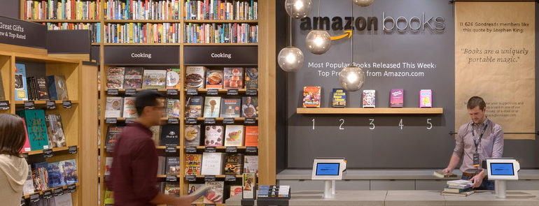 Продажа книг  в Amazon